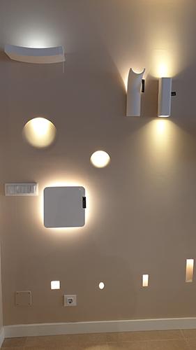 tienda de iluminación