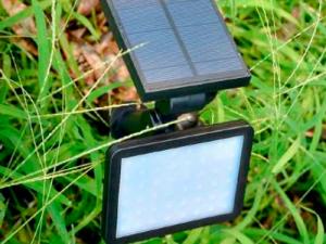 luces solares