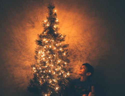 La iluminación de Navidad con tecnología LED