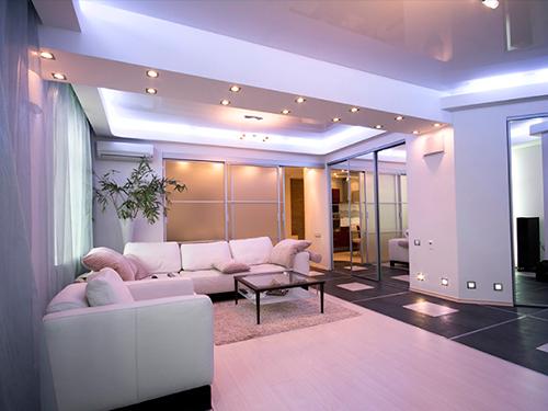 instalación LED